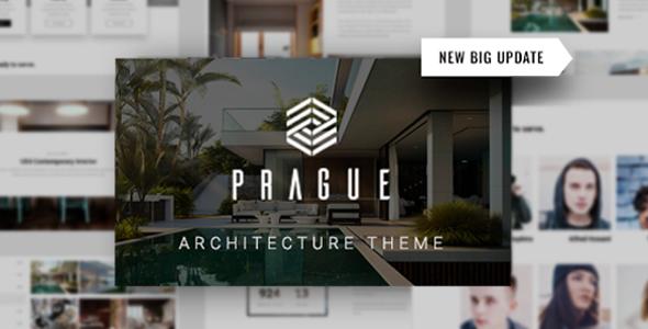 Prague | Architecture WordPress Architecture - Portfolio Creative