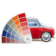 Vector Color Palette for Automobile - GraphicRiver Item for Sale