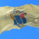 Flag of North American State of New Jersey - VideoHive Item for Sale