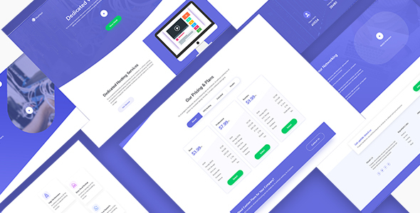 MunHost – Hosting and Domain PSD Template