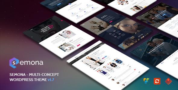 Semona - Creative Multi-Concept WordPress Theme - Corporate WordPress