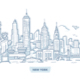 New York Cityscape Doodle - GraphicRiver Item for Sale