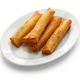 spring rolls, chinese cuisine isolated on white background - PhotoDune Item for Sale
