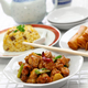 general tso's chicken, fried rice, spring rolls, american chinese cuisine - PhotoDune Item for Sale