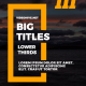 Big Titles & Lower Thirds III - VideoHive Item for Sale
