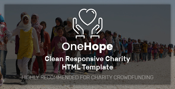 Image of OneHope - Charity HTML Template
