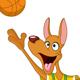 Basketball Kangaroo - GraphicRiver Item for Sale