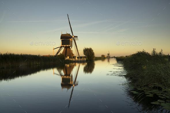 Windmill the Gelkenesmolen - Stock Photo - Images