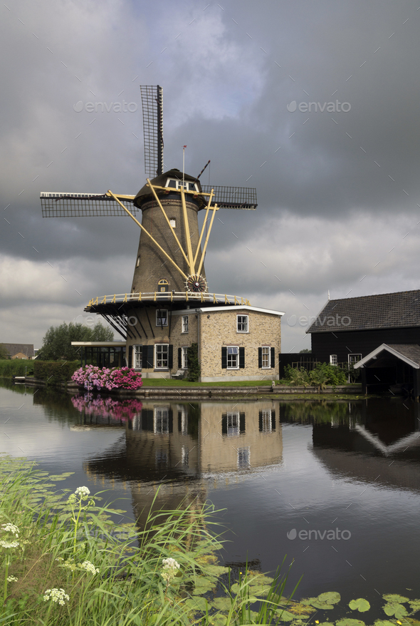 Windmill the Vriendschap - Stock Photo - Images