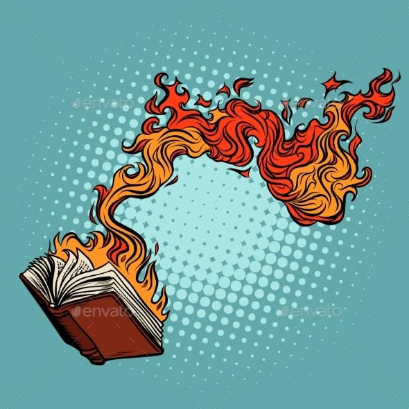 Book Burns - Miscellaneous Vectors