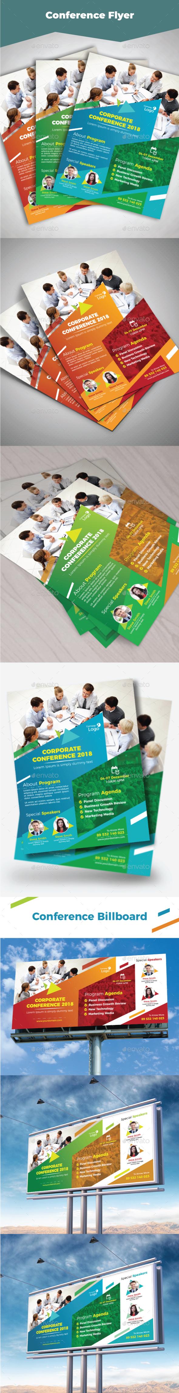 Conference Bundle - Flyers Print Templates