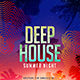 Deep House Summer Flyer - GraphicRiver Item for Sale