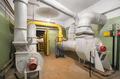 Big old air ventilation system in shelter - PhotoDune Item for Sale