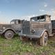 Old German military trucks of world war II outdoor - PhotoDune Item for Sale