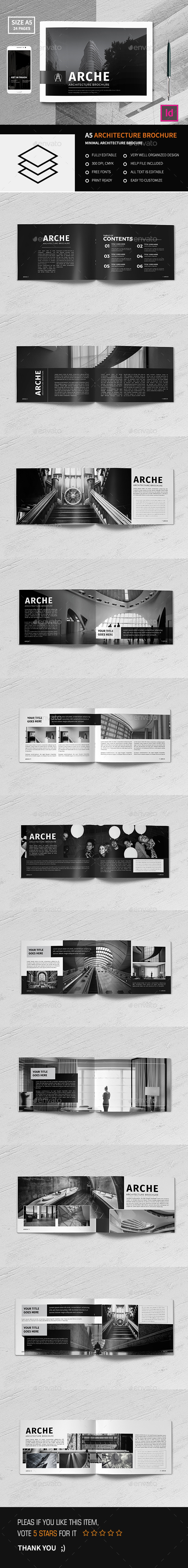 A5 Architecture Brochure - Corporate Brochures