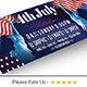 4th of July BBQ Facebook Covers - GraphicRiver Item for Sale