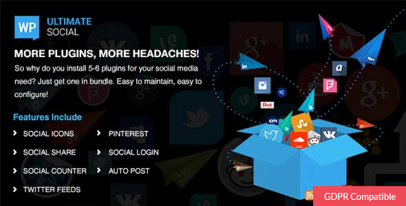 WP Ultimate Social - CodeCanyon Item for Sale