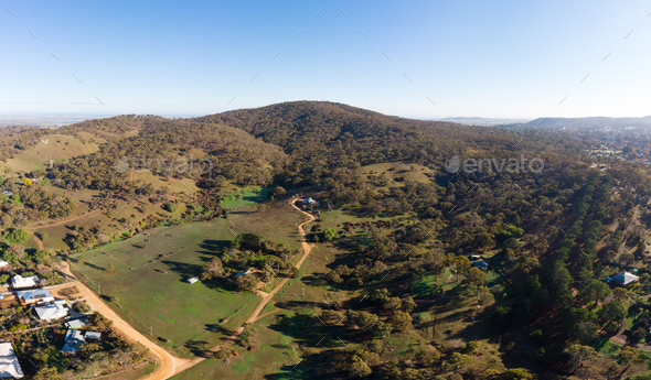 Mt Tarrengower - Stock Photo - Images