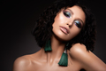 Glamour portrait of beautiful woman model with fresh daily makeup and romantic wavy hairstyle - PhotoDune Item for Sale