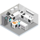 Isometric Home Cooking Template
