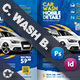 Car Wash Bundle Templates - GraphicRiver Item for Sale