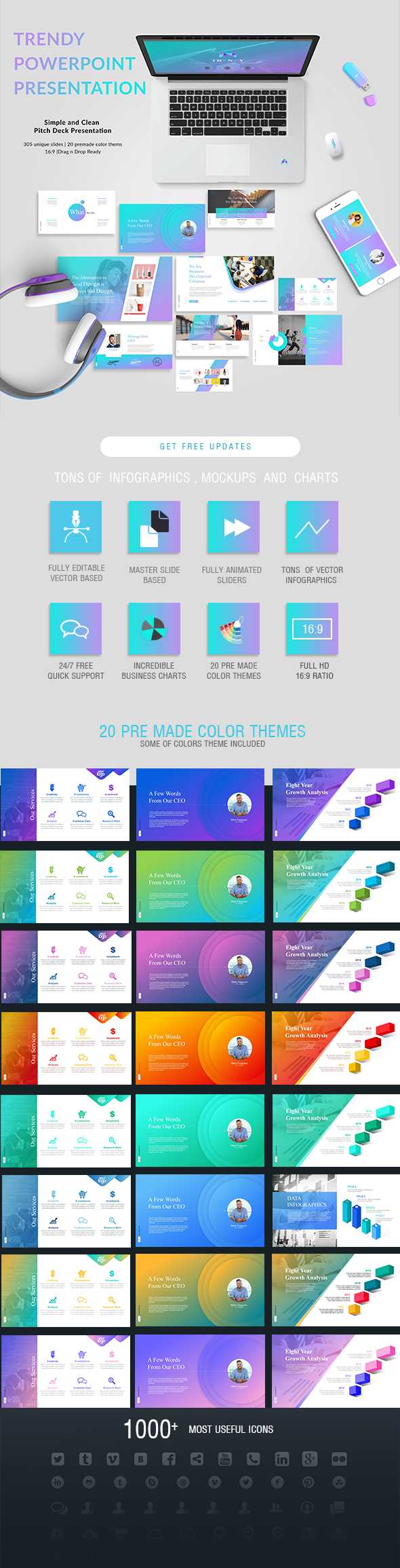 Pitch Deck PowerPoint Presentation - PowerPoint Templates Presentation Templates