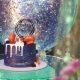 Birthday Cake on the Table - VideoHive Item for Sale
