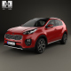Kia Sportage GT-Line with HQ interior 2016