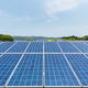 solar energy closeup on hillside - PhotoDune Item for Sale