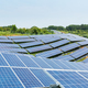 solar panels for clean energy on the hillside - PhotoDune Item for Sale