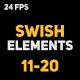 Liquid Elements 2 Swishes 11-20 - VideoHive Item for Sale
