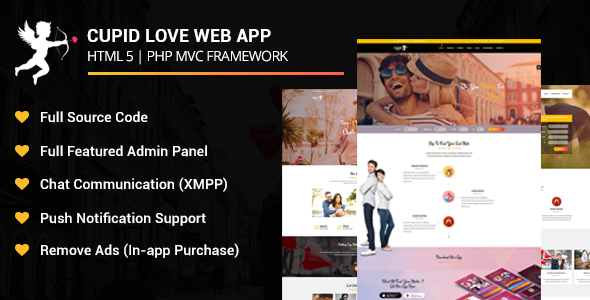 Cupid Love Dating Web Application            Nulled