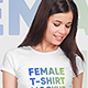 Female T-Shirt Mockups Vol5. Part 2 - GraphicRiver Item for Sale
