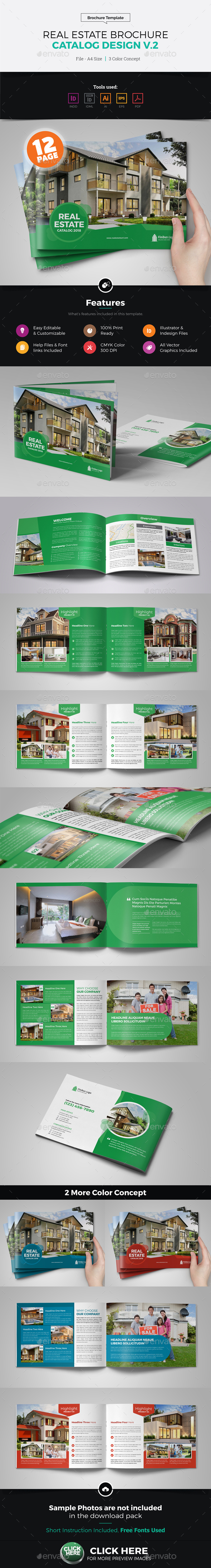 Real Estate Agency Brochure Catalog v2 - Catalogs Brochures