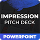 Impression - Pitch Deck Powerpoint Template - GraphicRiver Item for Sale