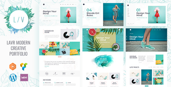 Image of Creative Portfolio | Lavr Portfolio WordPress for Creative Portfolio
