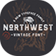 The Northwest - Vintage Font - GraphicRiver Item for Sale