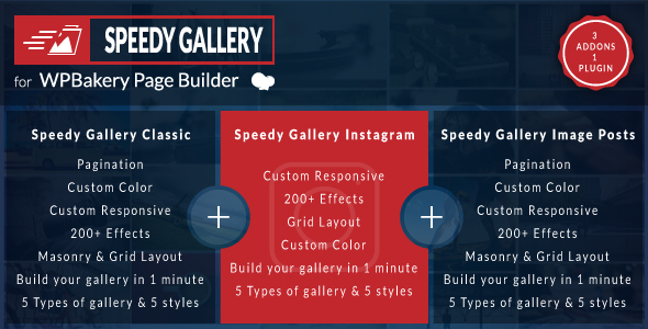 Speedy Gallery Addons for WPBakery Page Builder (formerly Visual Composer) - CodeCanyon Item for Sale