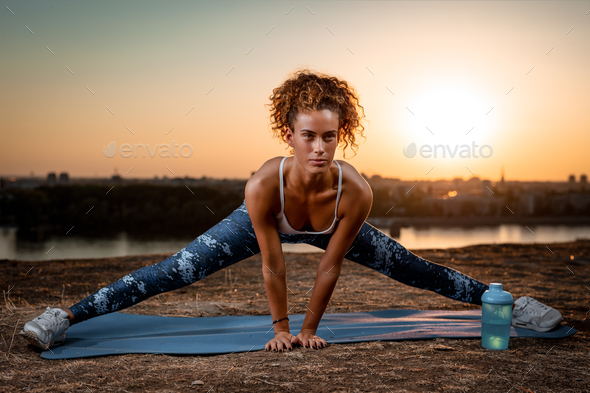Staying Fit And Healthy - Stock Photo - Images