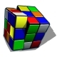 Rubik Cube Isolated on White Background - GraphicRiver Item for Sale