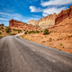 Scenic road in the Capitol Reef National Park, USA. - PhotoDune Item for Sale