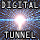 Digital Tunnel Background - VideoHive Item for Sale