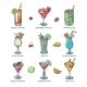 Cocktail Vector Alcohol Beverage Drinking - GraphicRiver Item for Sale