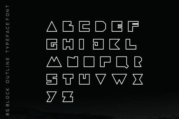 BS Block font