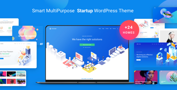 Atomlab - Multi-Purpose Startup WordPress Theme - Business Corporate