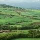 Shadows of Clouds Slide on Hills of Tuscany, Italy - VideoHive Item for Sale