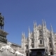 Lot of Pigeons Fly Over Piazza Del Duomo in Milan - VideoHive Item for Sale