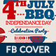 4th of July BBQ Facebook Cover - GraphicRiver Item for Sale