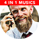 Upbeat & Inspiring Corporate Music Bed