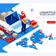 Industry of Shipment and Web Delivery - GraphicRiver Item for Sale